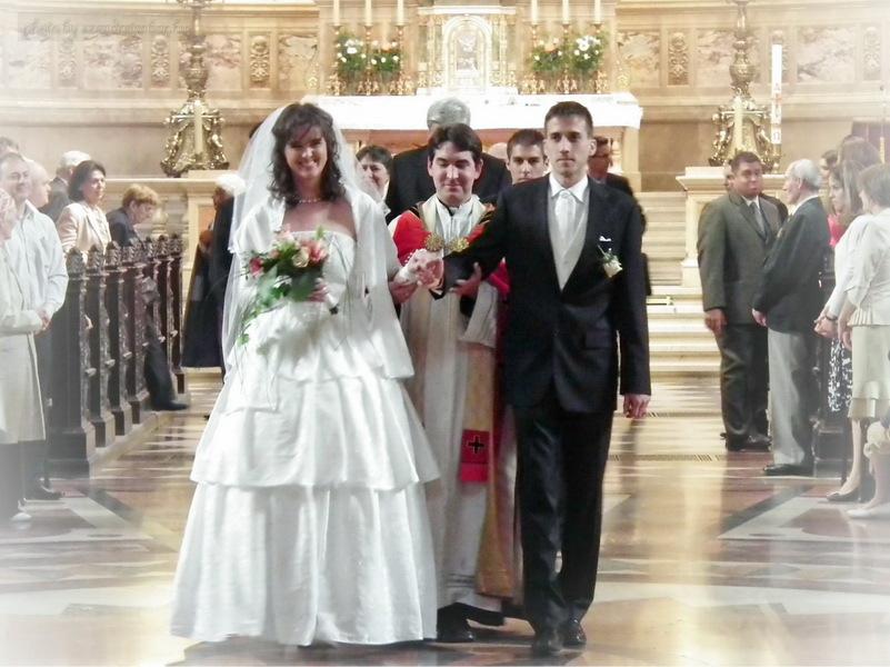 Máté és Mária esküvője a Szent István Bazilikában - szendreigabor.hu