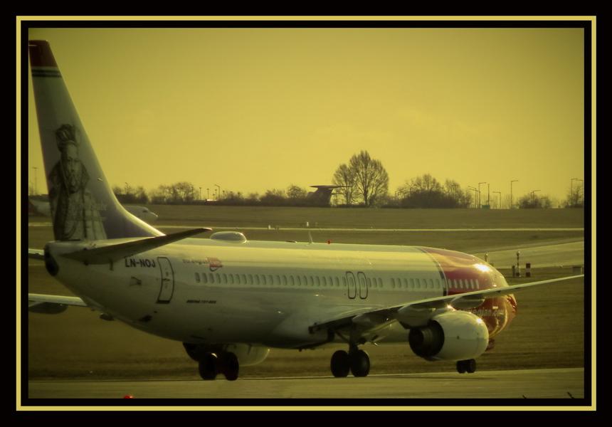 Norvegian  Airlines LN-NOJ  - szendreigabor.hu