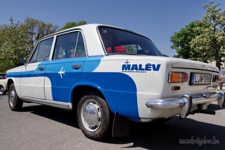 Szocialista autók találkozója - MALÉV Lada