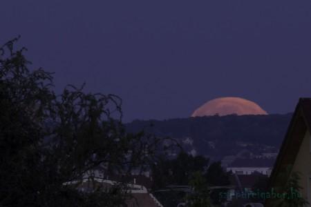 Telihold szuperhold fotó - Szendrei Gábor