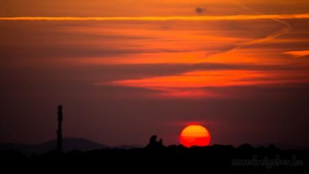 Veresegyház naplemente - Szendrei Gábor