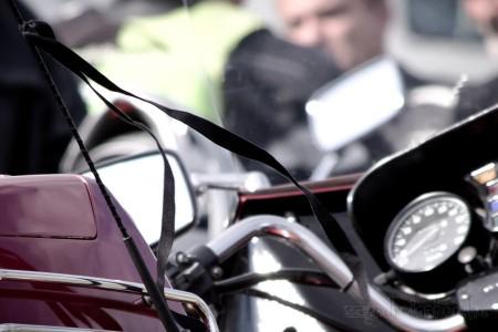 Motoros megemlékezés a lengyelországi balesetben elhunyt áldozatokra.