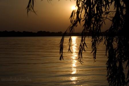 Víz, zene, virág fesztivál Tatán képek - Öreg-tó naplemente - Szendrei Gábor
