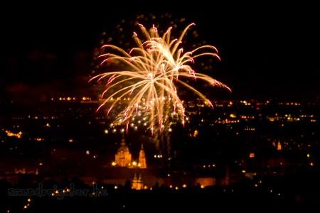 2012. augusztus 20. Tűzijáték a Gyermekvasútról - Szendrei Gábor fotó