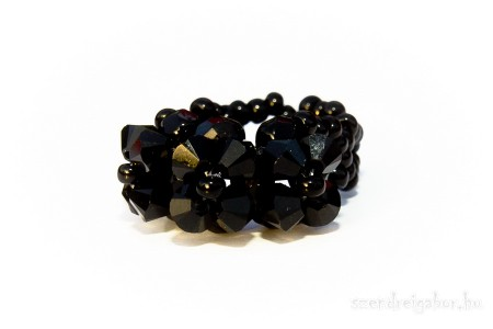 Swarovski kristály gyűrű eladó - Ékszerfotó: Szendrei Gábor