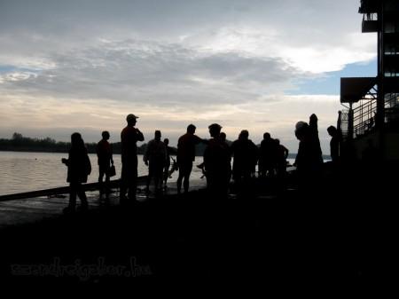 VITSPORT sárkányhajó kupa 2012 - Melegítés - fotó: Szendrei Gábor