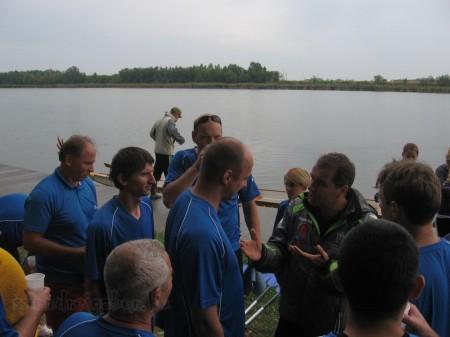 VITSPORT sárkányhajó kupa 2012 -  A megbeszélés - fotó: Szendrei Gábor