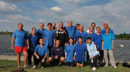 VITSPORT sárkányhajó kupa 2012 - Ovit Zrt csoportkép