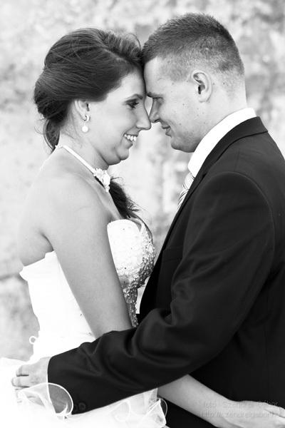 2013.08.06. Edit és Norbi Esküvői díszben - fotó: Szendrei Gábor