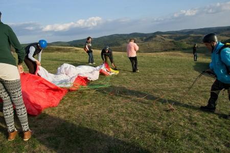 Önálló repülés siklóernyővel Fedémesen - Szendrei Gábor