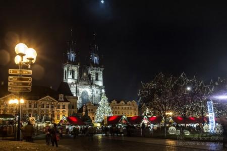 Prágai Karácsonyi vásár Elton koncert 2013 - fotó: Szendrei Gábor
