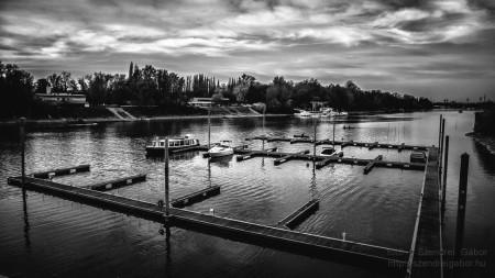 Meder utcai kikötő Budapesten - fotó: Szendrei Gábor