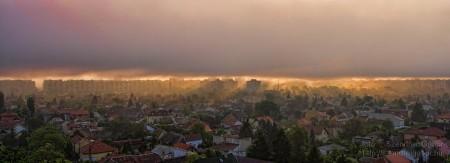 2014.04.23. Áprilisi ködbetörés Újpalotán - Budapest XV. kerület - fotó: Szendrei Gábor