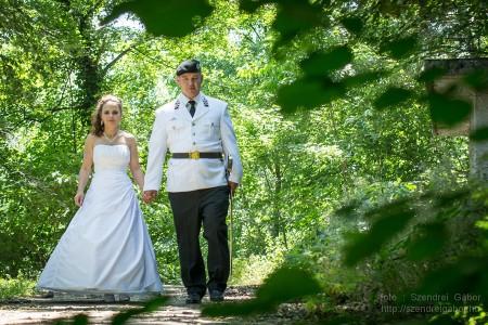 2014.06.07. Enikő és Robi Katonai Esküvője Tatabányán