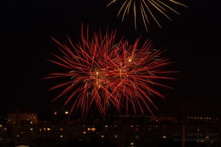 Újpalotai napok záró tűzijátéka 2014 - fotó: Szendrei Gábor