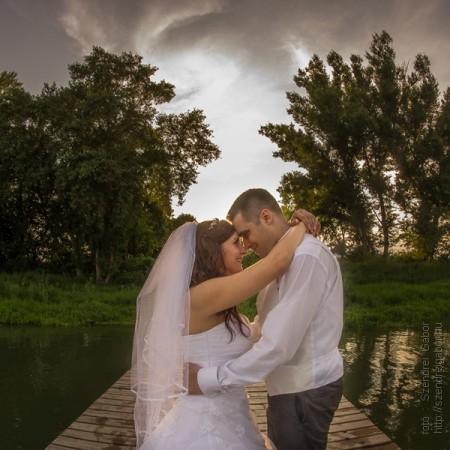 2014.07.26. Timi és Robi Esküvője Százhalombattán - fotó: Szendrei Gábor