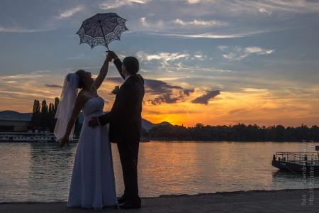 Brigi és Zsolti Esküvője Budapesten - fotó: Szendrei Gábor