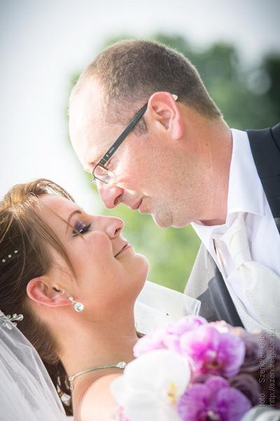 Ági és Zoli esküvői fotói Kecskéden - fotó: Szendrei Gábor