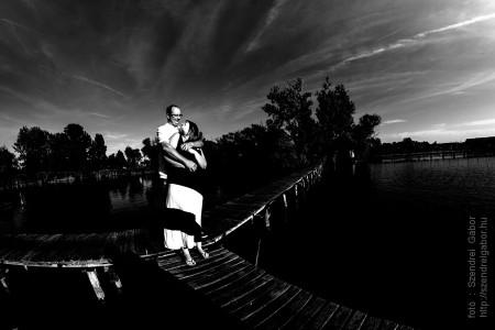 Ági és Zoli jegyespár fotói - fotó: Szendrei Gábor