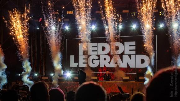 Fedde Le Grand koncert - fotó: Szendrei Gábor