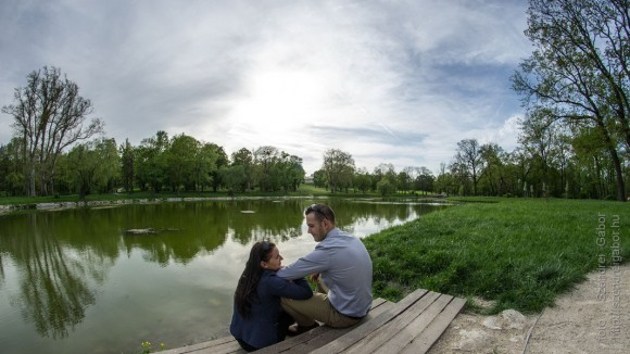 Izabella és Vilmos jegyespár fotózása - fotó: Szendrei Gábor