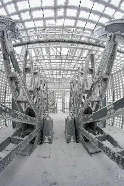 A téli Turul, Kilátó és Barlang - fotó: Szendrei Gábor