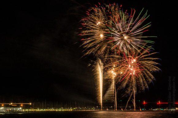 Siófoki augusztus 20-ai tűzijáték legszebb 13 fotója 2017 Balaton - fotó: Szendrei Gábor