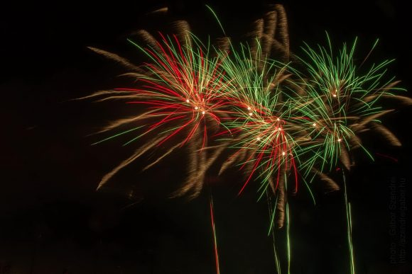Tatabánya Bányásznap Tűzijáték 2017 - fotó : Szendrei Gábor