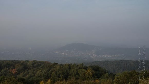2020. Tatabánya 20km, Tatabánya Körtvélyes kilátó panoráma - fotó: Szendrei Gábor